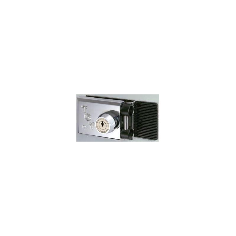 Cerradura TOY modelo CRS para puertas de vidrio batientes.