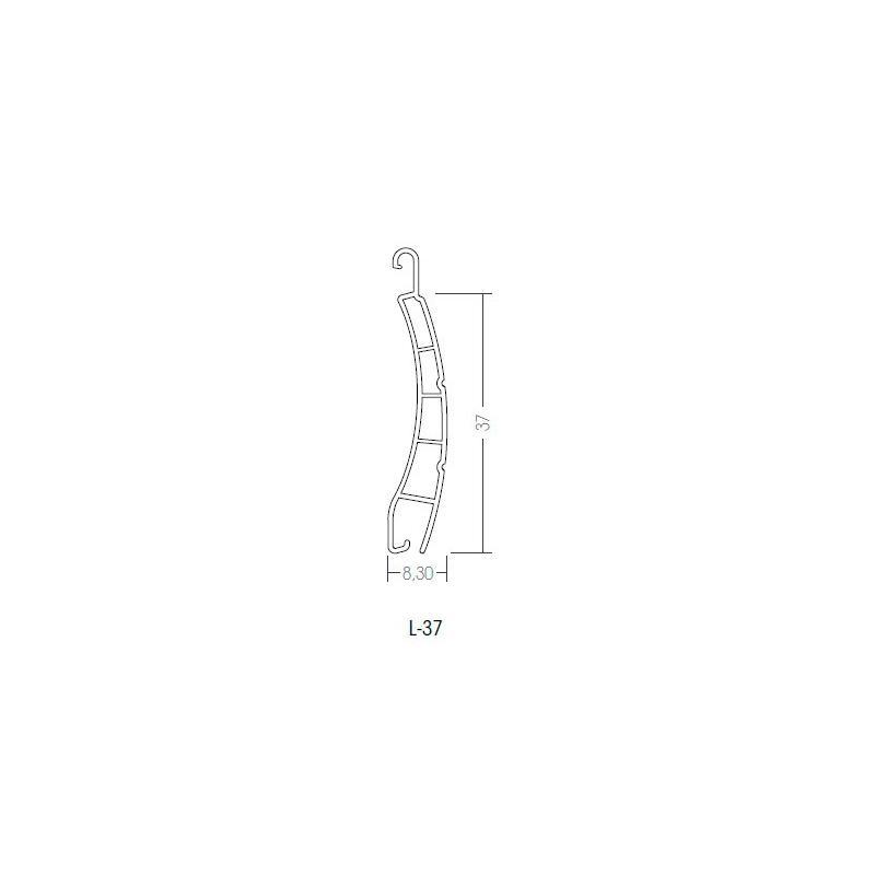 Lama en PVC por metro lineal