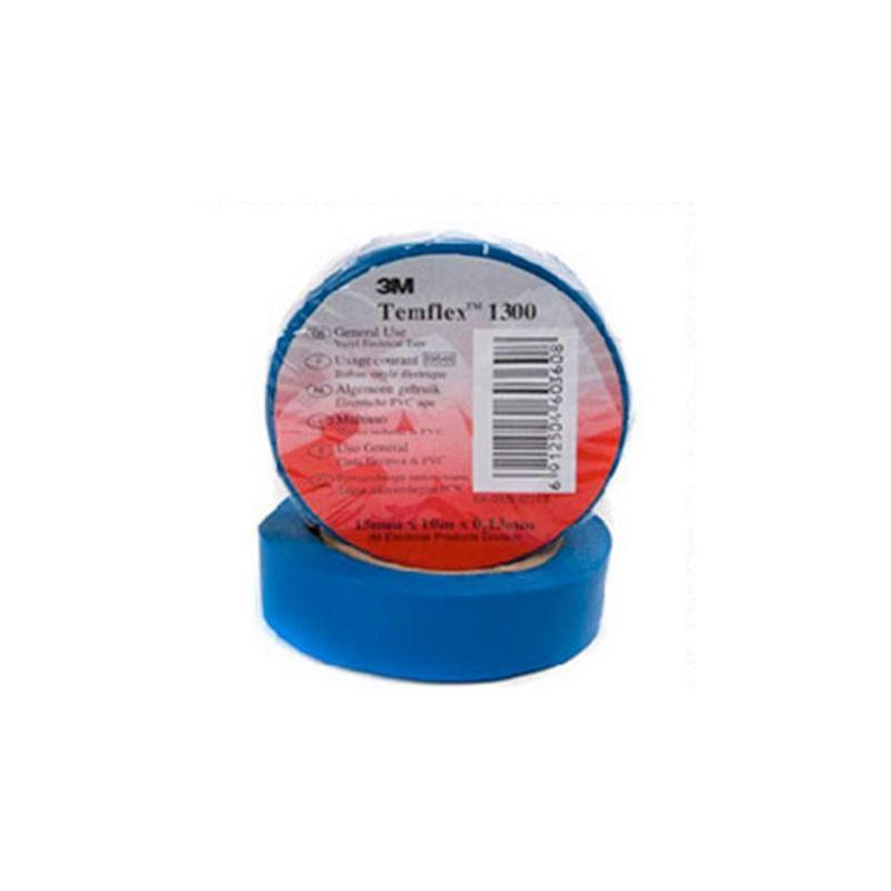 Cinta aislante de PVC Azul 3M Temflex 1300