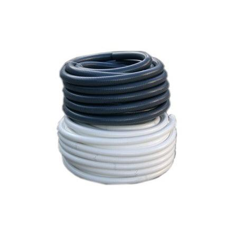 Tubo para desagüe en PVC flexible